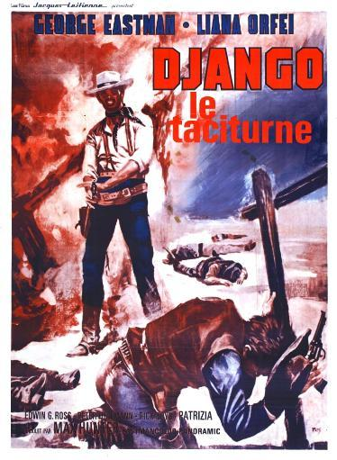 Django Kills Softly French Poster Art George Eastman 1968 Movie Poster Masterprint RIOJXG4YRHXW3X17