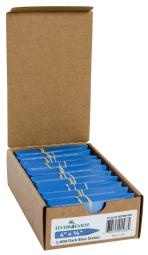 Plant Stake Labels - Colored Plant Stake Labels Blue 4''x5/8