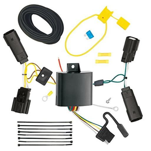 Trailer Wiring Connector Kit T-One T-One Connector Assembly With Upgraded Circuit Protected Modulite ® Module