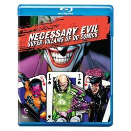 Necessary evil-villains of dc comics (blu-ray) BR373057