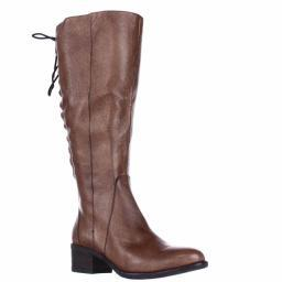 Steve Madden Laceup Western Boots, Cognac Laceup