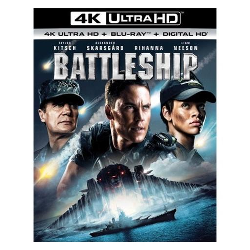 Battleship (blu-ray/4kuhd mastered/digital hd) (2discs)