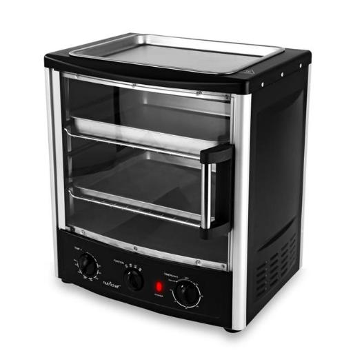 Nutrichef PKMFT039 Multi-Function BBQ Oven with Rotisserie & Roast Ability DCE1C1AA2B766774