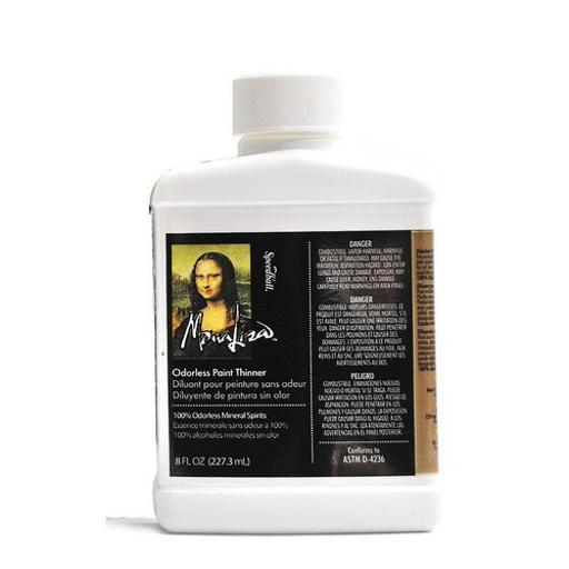 Speedball Art Products 00190008 Mona Lisa Odorless Paint Thinner 8Oz