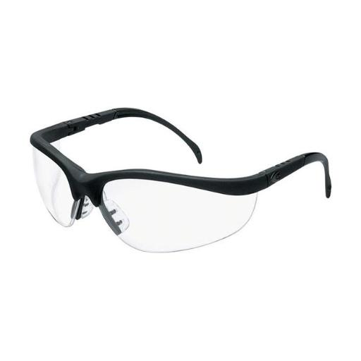 MCR 2418549 Klondike Multi-Purpose Safety Glasses with Clear Lens, Clear Lens Frame - Pack of 12