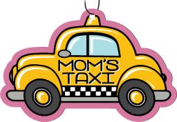 Spoontiques 10025 mom's taxi air freshener