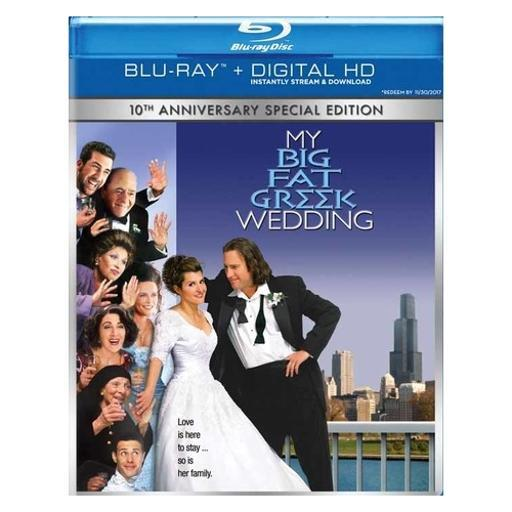 My big fat greek wedding (blu-ray/digital hd) 3NOCFG3CXWYIMQOT