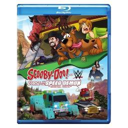 Scooby-doo & wwe-curse of speed demon (blu-ray/dvd combo) BR581309