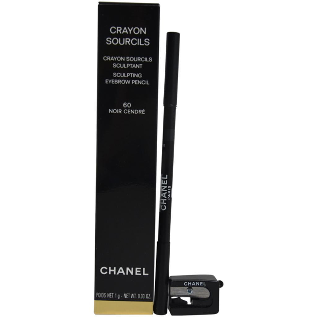 Chanel Crayon Sourcils Sculpting Eyebrow Pencil # 60 Noir Cendre 1G/0.03Oz