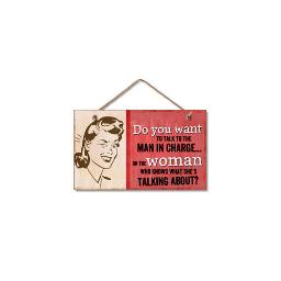 Highland woodcrafters  llc 4100076 9 5x5 5 woman who knows wood sign