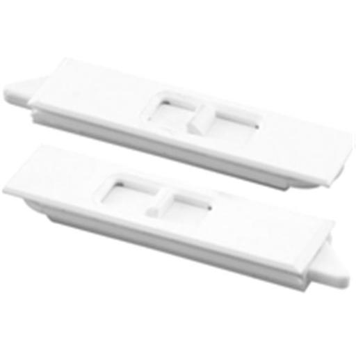 Prime Line Products F2734 Mortise Window Tilt Latch, White