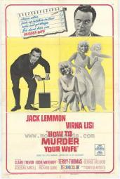 How to Murder Your Wife Movie Poster Print (27 x 40) MOVGF6421