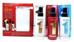 Revlon UniqONE The Multi-benefit Hair Treatment: Original Hair Treatment, Coconut Hair Treatment, Lo