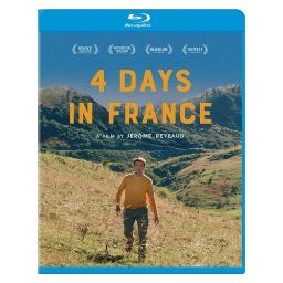 4 days in france (blu ray) (ws/1.85 w/french dts) BRCG000166