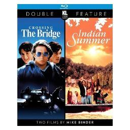 Crossing the bridge/indian summer (blu-ray/1992-93/ws 1.85/double feature) BRK22623