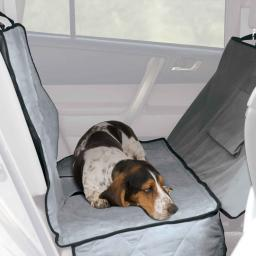 K&H Pet Products 7858 Gray K&H Pet Products Car Seat Saver Deluxe Extra Long Gray 57 X 56 X 0.25