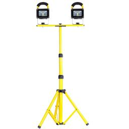 10W Rechargeable LED Flood Light Camp Work Emergency Lamp Tripod Stand Optional