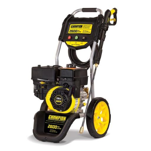 Champion 100382 2600 PSI 2.2 GPM Dolly Style Gas Powered Pressure Washer