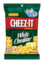Cheez-It White Cheddar Crackers 3 oz. Pegged - Case Of: 6;