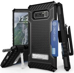 TRI-SHIELD RUGGED CASE STAND STRAP + BELT CLIP HOLSTER FOR SAMSUNG GALAXY NOTE 8