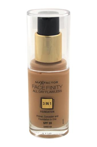 Facefinity All Day Flawless 3 In 1 Foundation SPF20 - # 60 Sand Max Factor 30 ml NFVHMHZTOORB12OJ