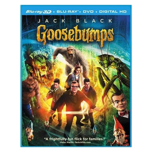 Goosebumps (2015/blu-ray/dvd/3-d/ws 1.85/ultraviolet/3 disc) (3-d) 1704174
