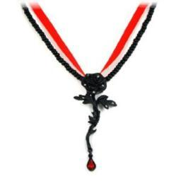 Alchemy Gothic Rose of Passion Pendant w/ Necklace