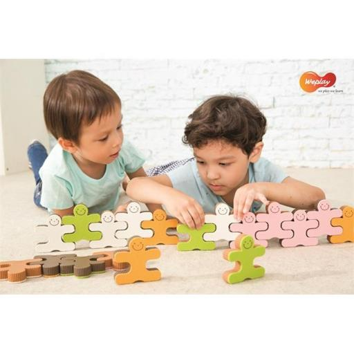 Weplay KF0010 Building Toy for Cookie Festival, Multi Color C7B6352454724E34