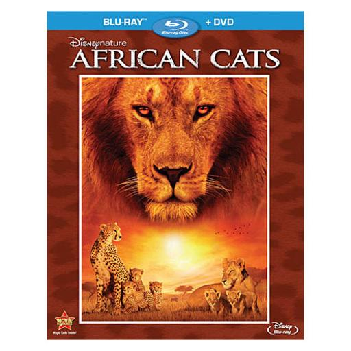 Disneynature-african cats (blu-ray/dvd/2 disc/ws) br-pkg