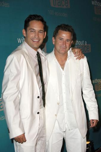 Enrique Murciano, Anthony Lapaglia At Arrivals For Without A Trace Celebrates 100Th Episode, The Cabana Club At Sterling Steakhouse, Los Angeles.