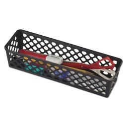 """Recycled Supply Basket 10.125"""" X 3.0625"""" X 2.375"""" Black 3 Per Pack   1 Pack of: 3"""
