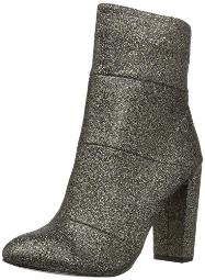 BCBGeneration Women's Coral Bootie Ankle Boot, Black/Gold, 8 M US