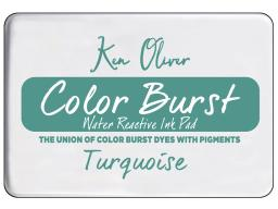 Cttkn08213 contact crafts koliver color burst pad turquoise