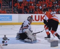 Claude Giroux 2009-10 NHL Stanley Cup Finals Game 3 Action PFSAAMK20801