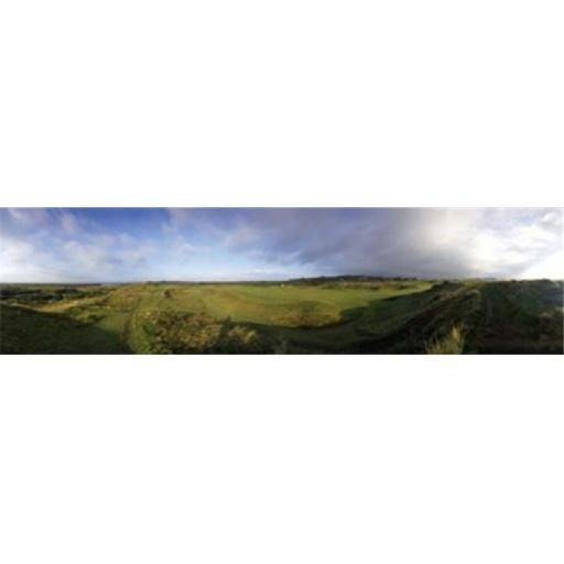 Panoramic Images PPI111966L Golf course on a landscape Royal Troon Golf Club Troon South Ayrshire Scotland Poster Print by Panoramic Images - 36 x