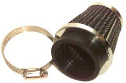 Emgo 12-55752 52mm Clamp-On Air Filter 12-55752