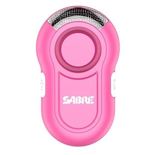 Sabre pa-clip-pk sabre personal alarm with clip and led light w 120db alarm