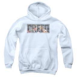 Creed Pep Talk Big Boys Youth Pullover Hoodie White