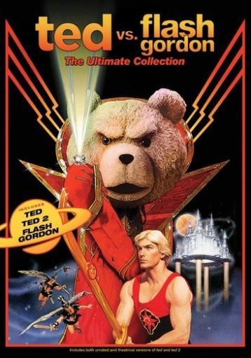 Ted vs flash gordon-ultimate collection (dvd) (3discs) 1294495
