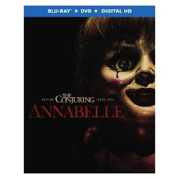 ANNABELLE (BLU-RAY/DVD/DIGITAL HD/ULTRAVIOLET/2 DISC) 794043181429