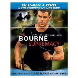 Bourne supremacy blu ray/dvd combo disc-nla BR61113490