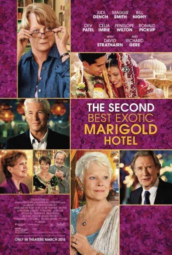 The Second Best Exotic Marigold Hotel Movie Poster Print (27 x 40) JH3YHHCYINH6CFOC
