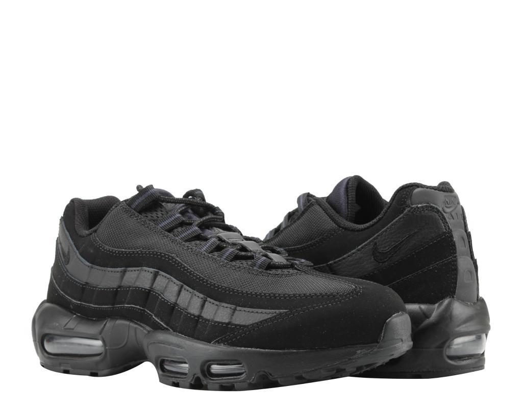 Nike Air Max 95 Triple BlackBlack Anthracite Men's Running Shoes 609048 092