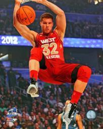 Blake Griffin 2012 NBA All-Star Game Action Photo Print PFSAAOP05401