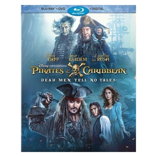 Pirates of the caribbean-dead men tell no tales (blu-ray/dvd/digital hd) 1300035