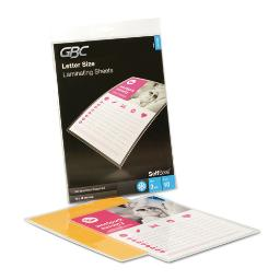 """Selfseal Self-Adhesive Laminating Pouches And Single-Sided Sheets 3 Mil 9"""" X 12"""" Gloss Clear 10 Per Pack   1 Pack of: 10"""