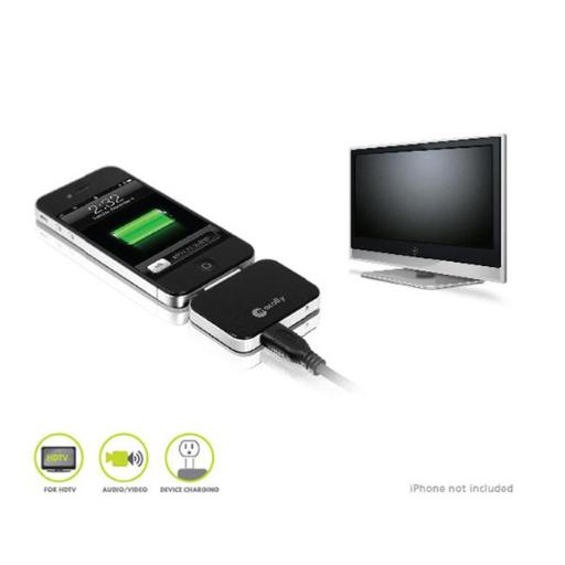 Macally IP-HDMI 30 Pin to HDMI Audi-Video Cable for iPhone iPod & iPad