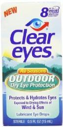 Clear Eyes All Season Outdoor Dry Eye Protection