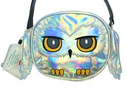 Harry Potter Purse Hedwig Owl Holographic Crossbody Bag with Coin Pouch