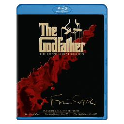 Godfather collection-coppola edition (blu-ray/4 discs) BR138644